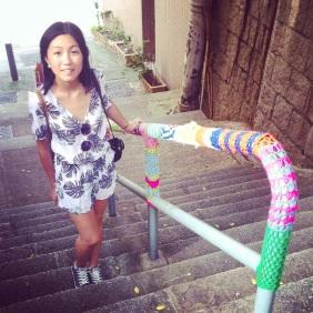 yarn bombing, sheung wan, hong kong